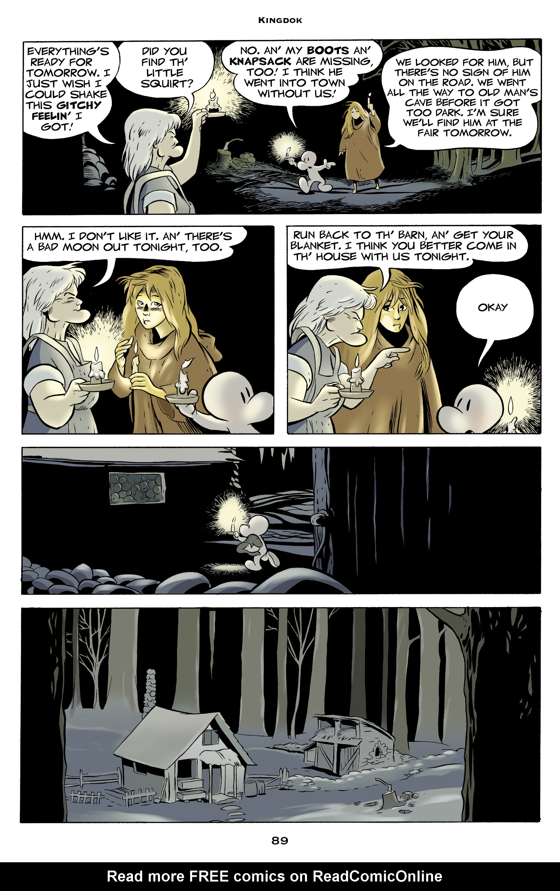 Read online Bone: Out From Boneville comic -  Issue # TPB - 89