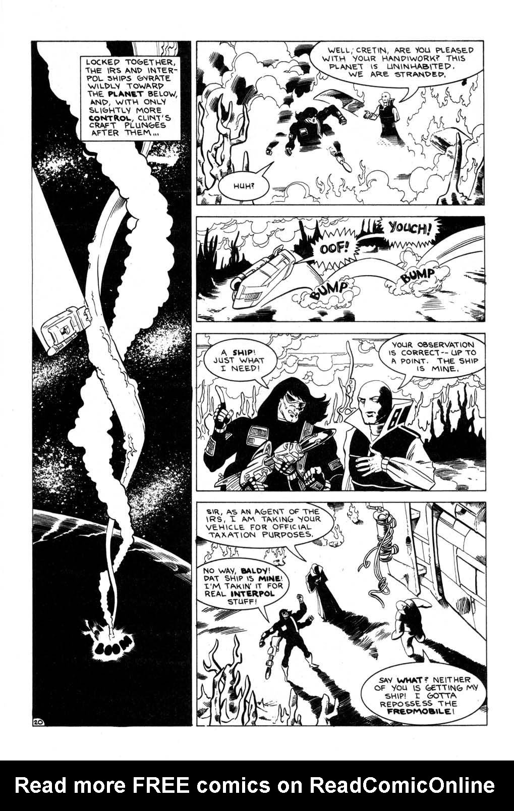 Aristocratic Xtraterrestrial Time-Traveling Thieves issue 7 - Page 22