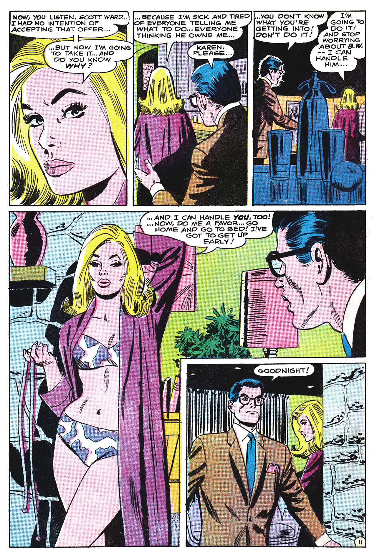 Read online Secret Hearts comic -  Issue #132 - 27