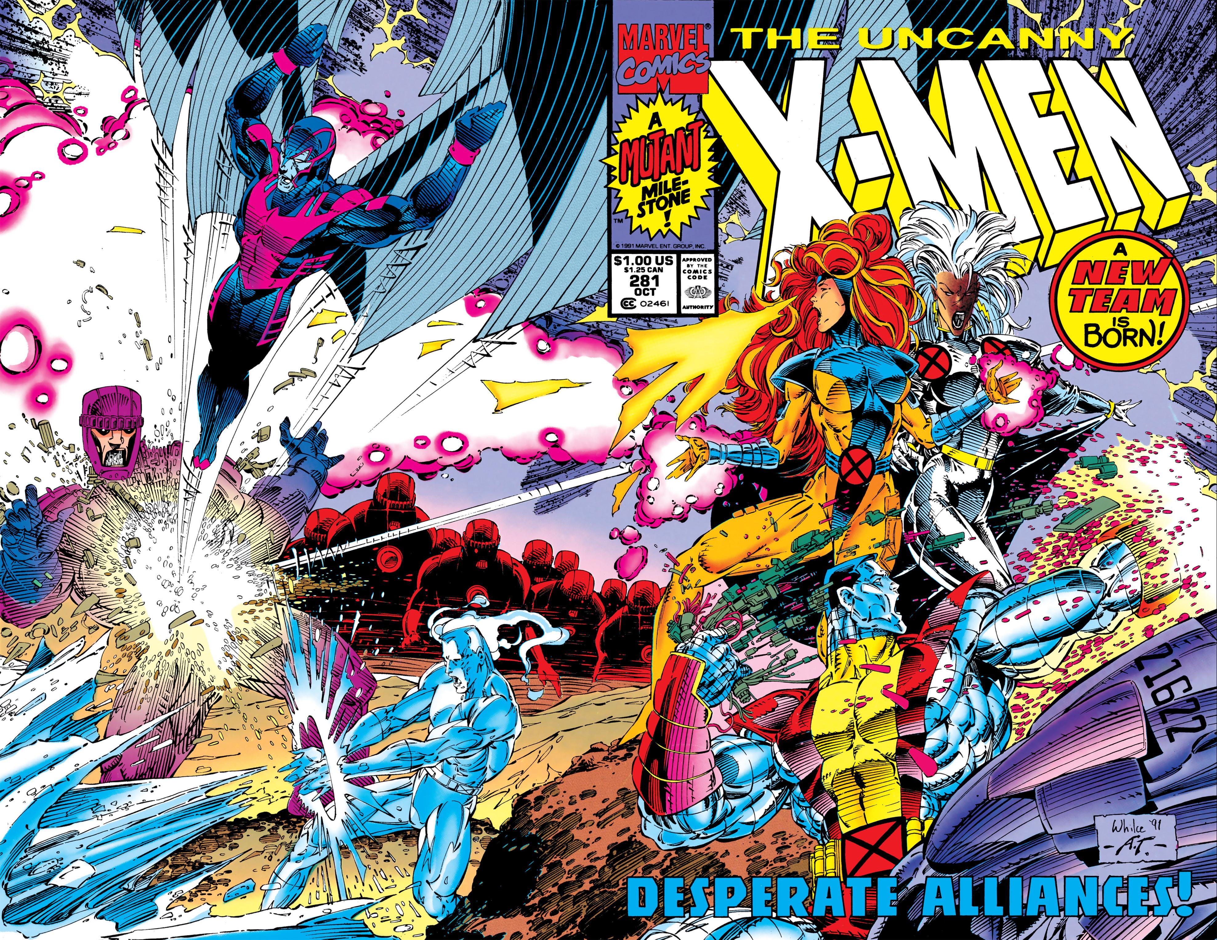 Read online Uncanny X-Men (1963) comic -  Issue #281 - 2