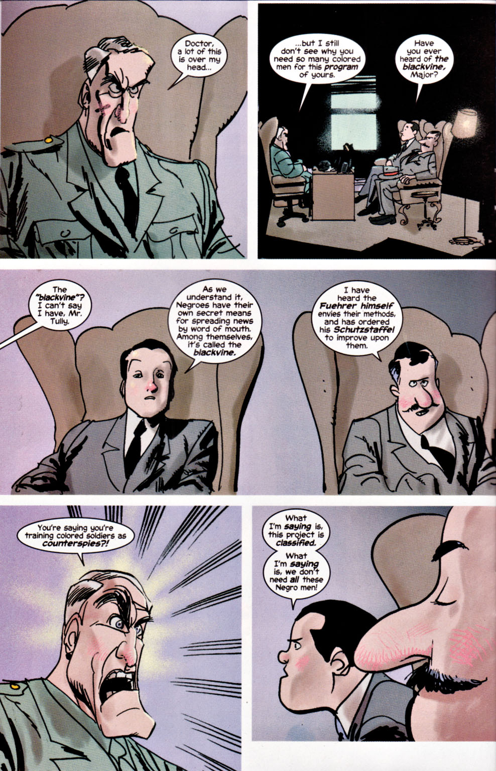 Read online Truth: Red, White & Black comic -  Issue #2 - 8