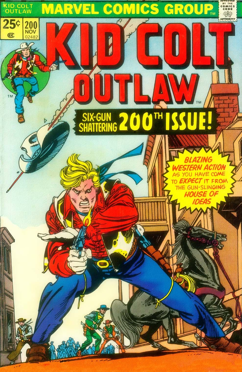 Kid Colt Outlaw issue 200 - Page 1