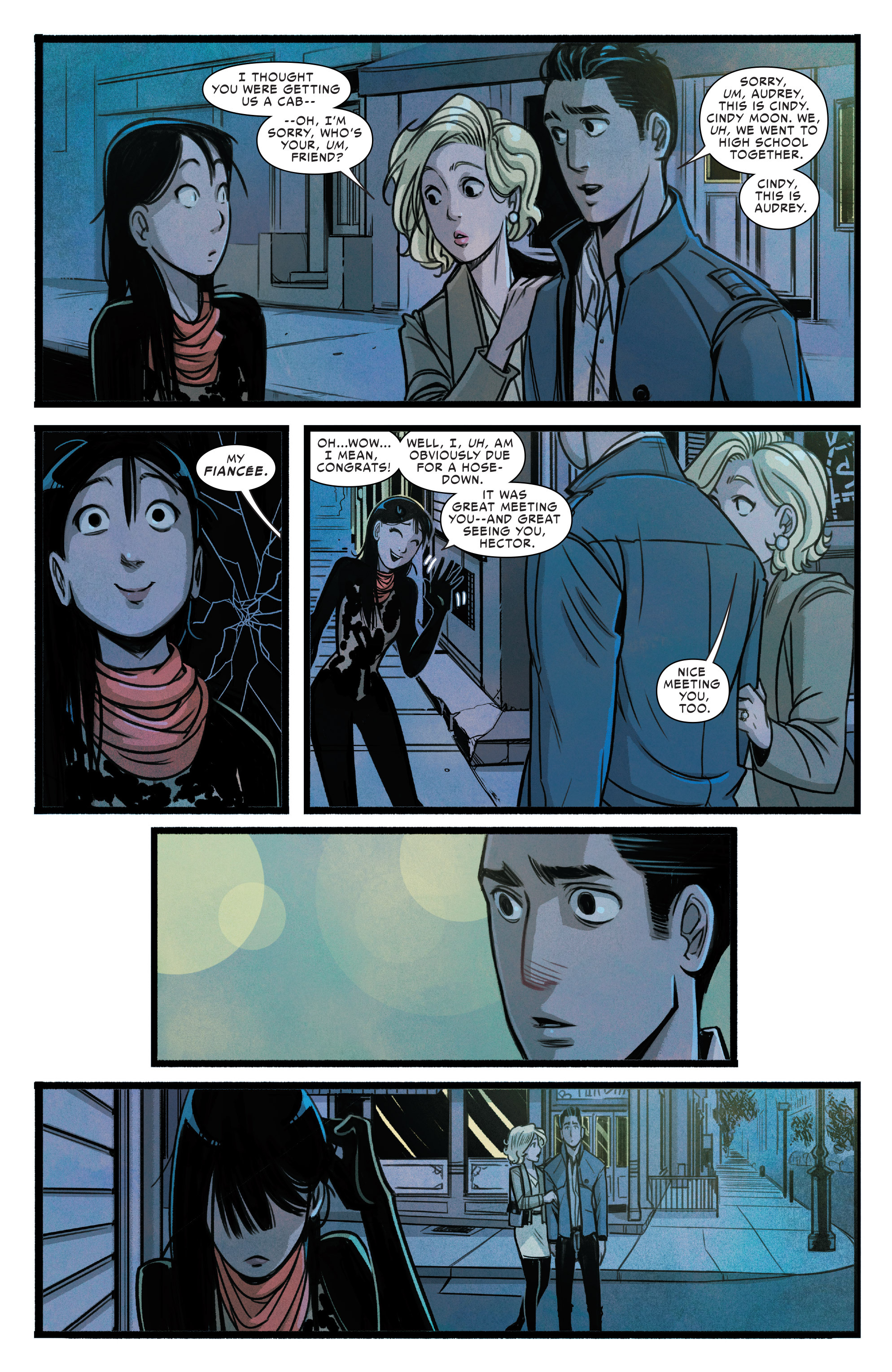 Read online Silk (2015) comic -  Issue #2 - 19