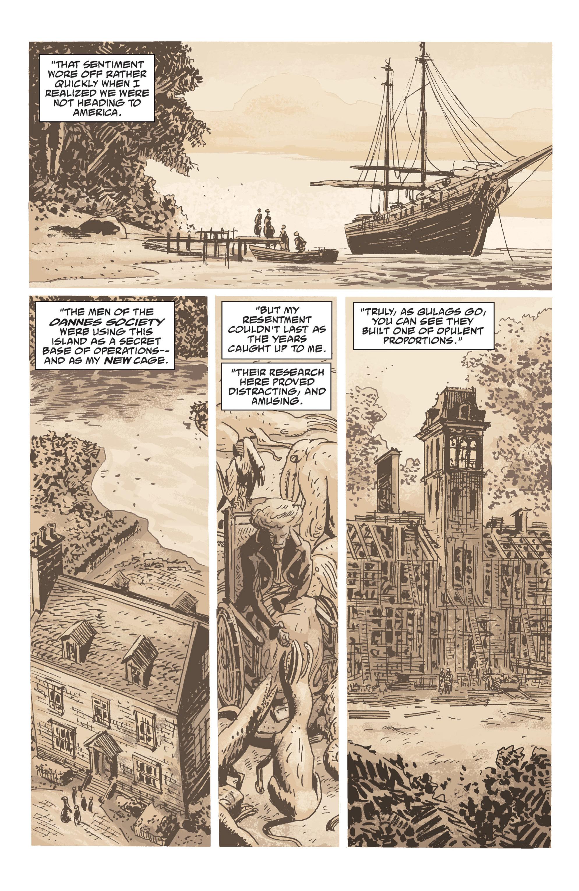 Read online B.P.R.D. (2003) comic -  Issue # TPB 7 - 92