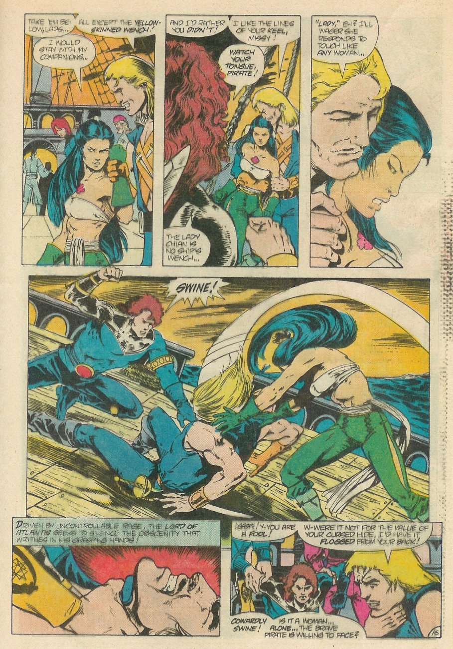 Read online Arion, Lord of Atlantis comic -  Issue #20 - 17