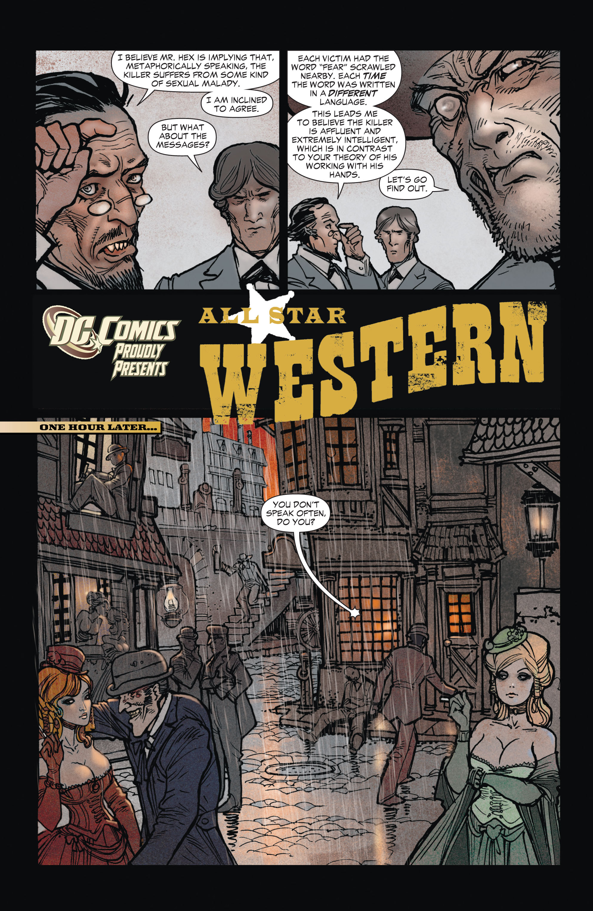 Read online All-Star Western (2011) comic -  Issue #1 - 11