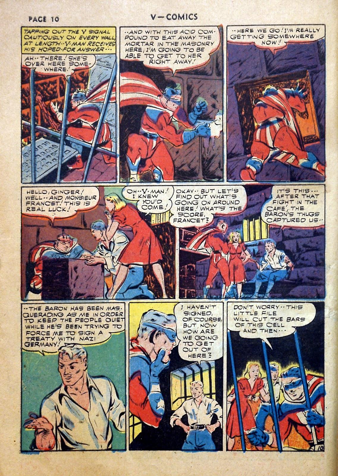 Read online V...- Comics comic -  Issue #2 - 11