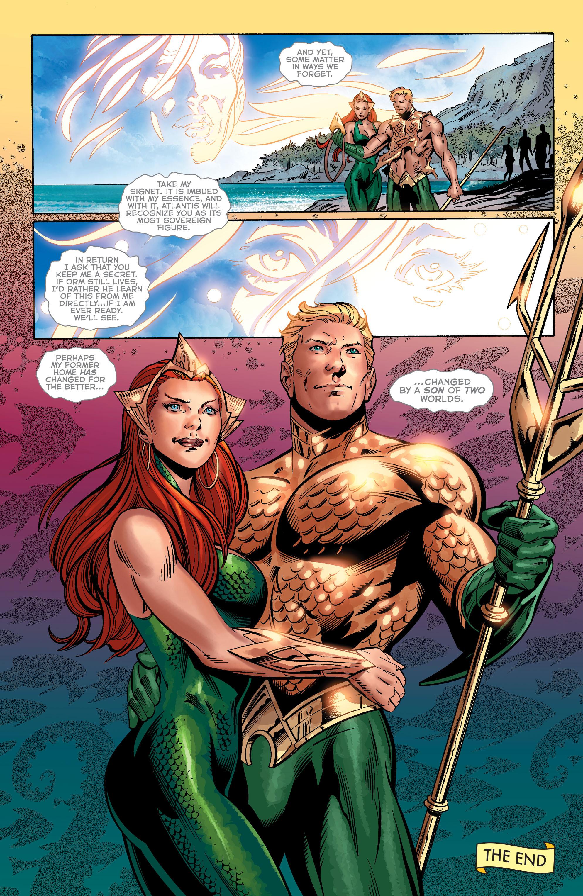 Read online Aquaman (2011) comic -  Issue #40 - 19