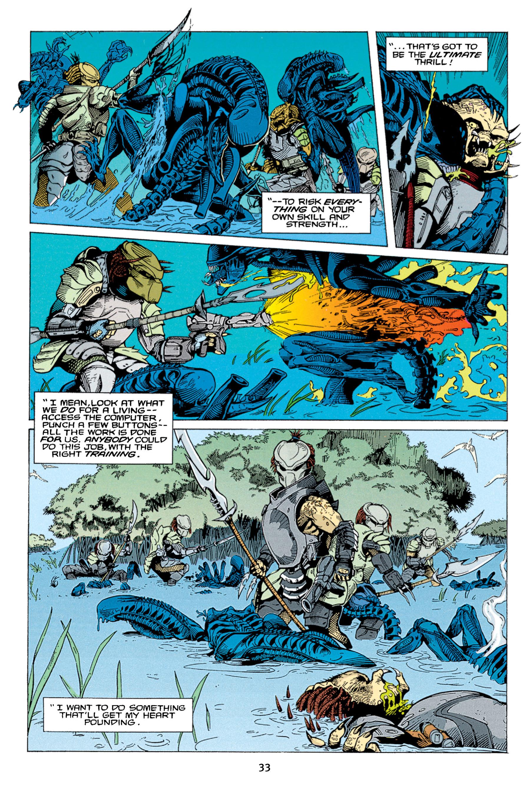 Read online Aliens vs. Predator Omnibus comic -  Issue # _TPB 1 Part 1 - 33