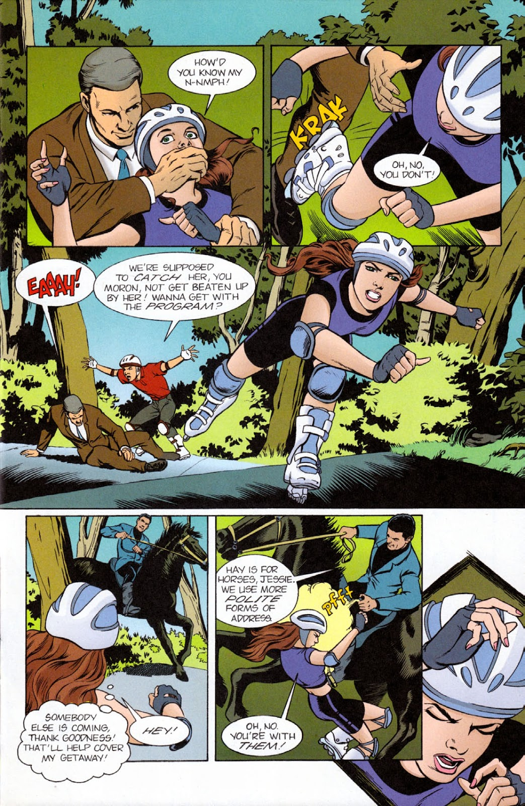 Read online The Real Adventures of Jonny Quest comic -  Issue #9 - 11