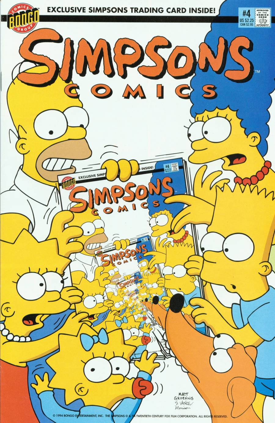 Read online Simpsons Comics comic -  Issue #4 - 1
