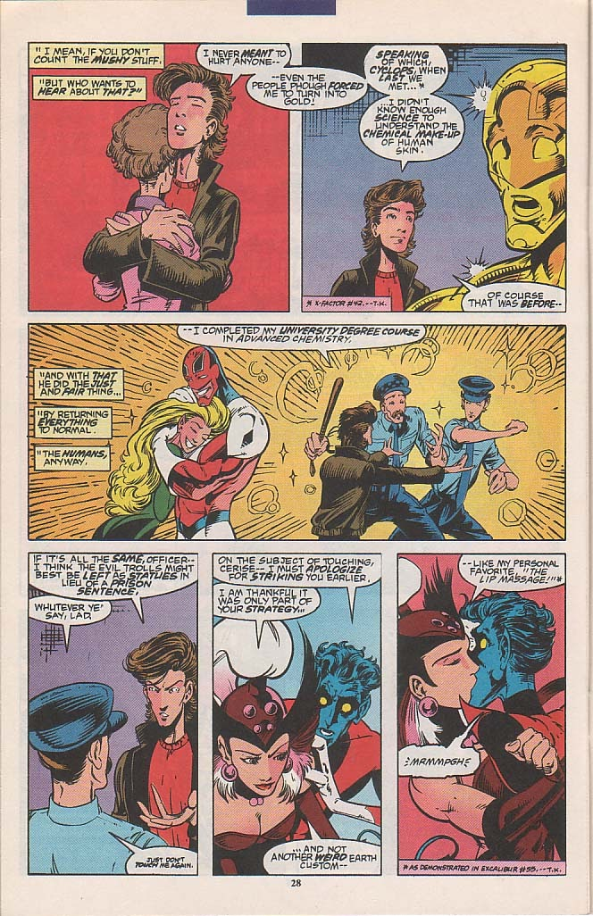 Excalibur (1988) issue 58 - Page 21