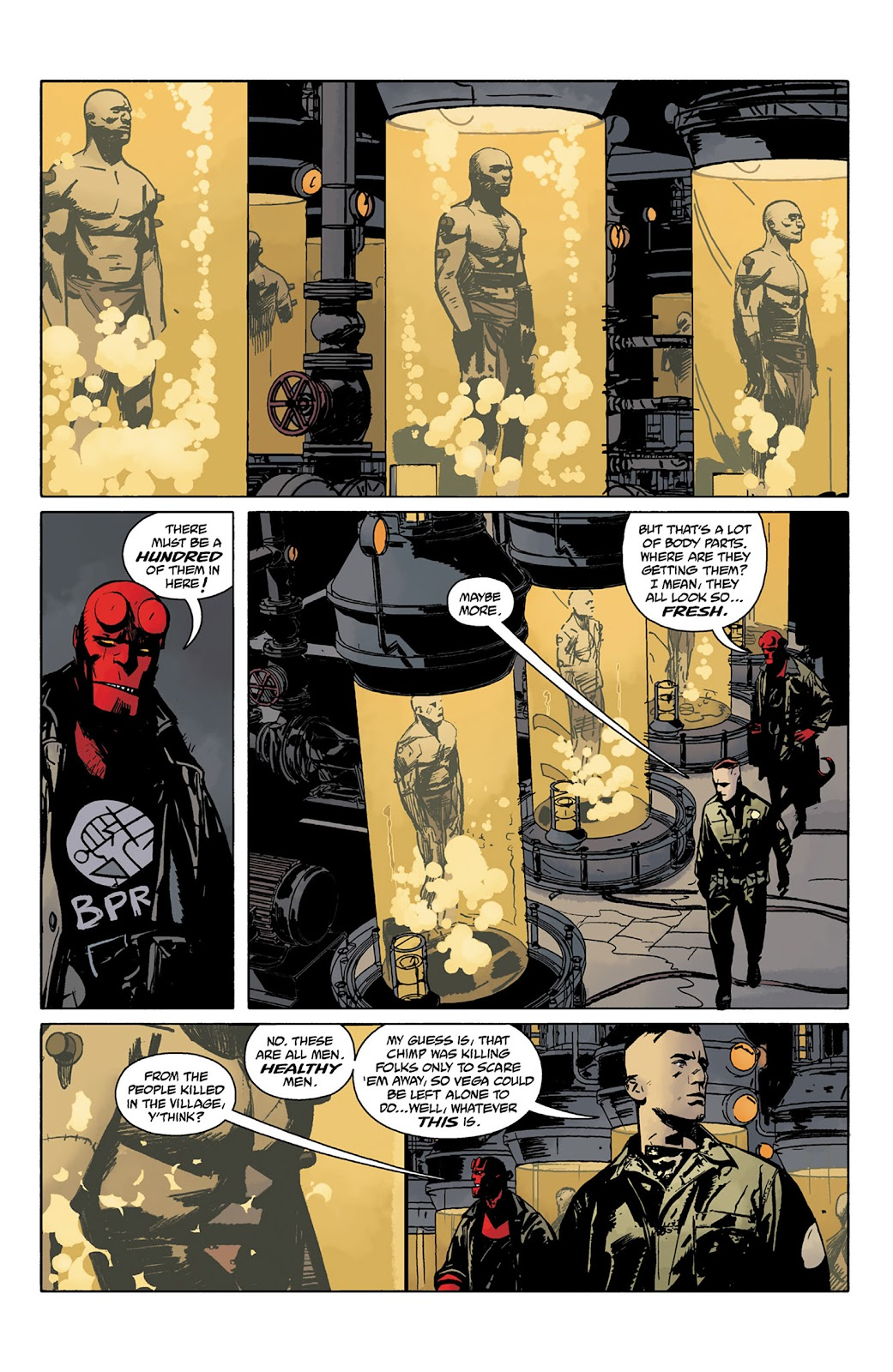 Read online Hellboy and the B.P.R.D. comic -  Issue # _TPB - 84