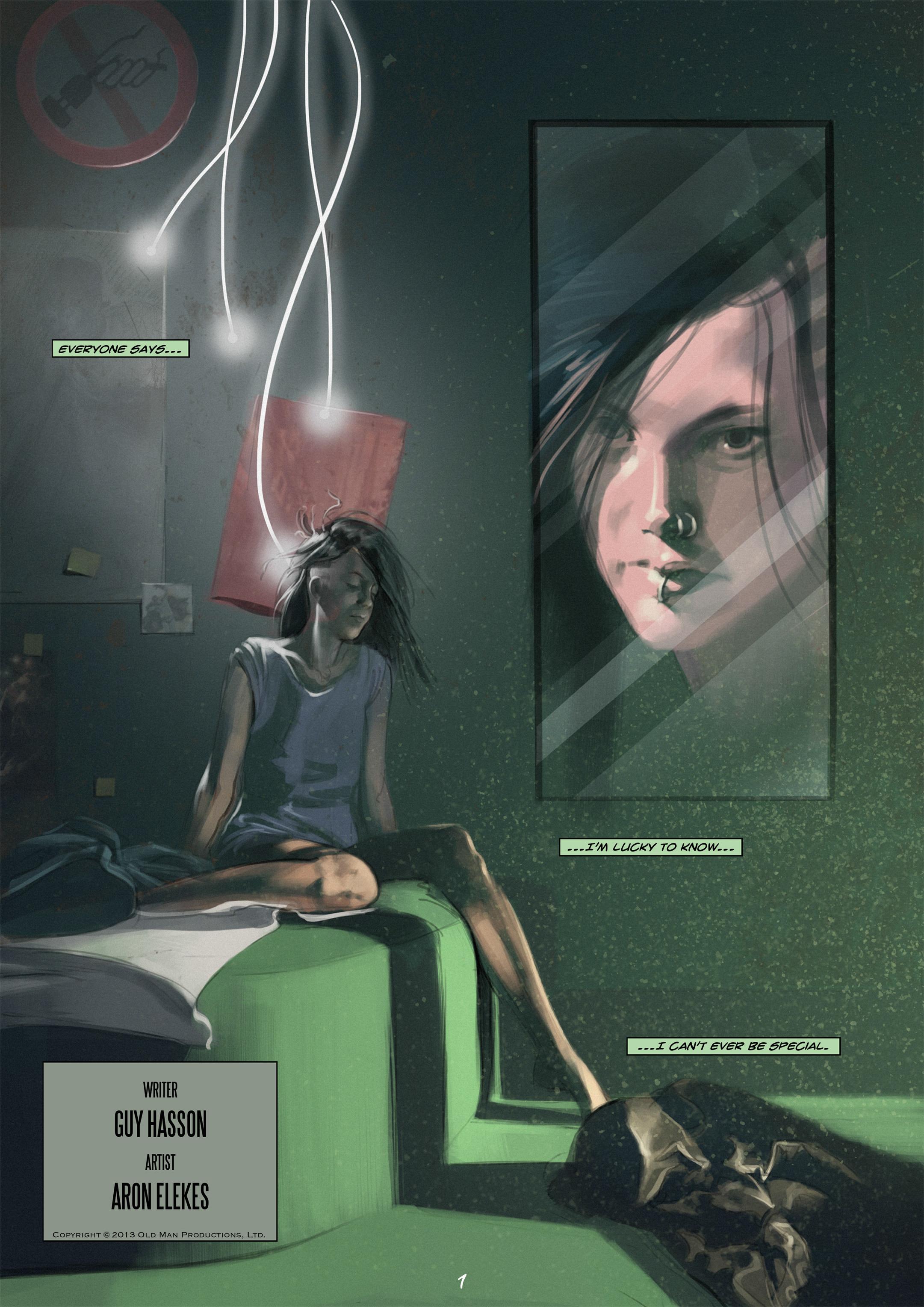 Read online Wynter comic -  Issue #1 - 2