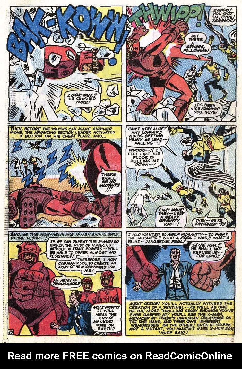 Uncanny X-Men (1963) 68 Page 48