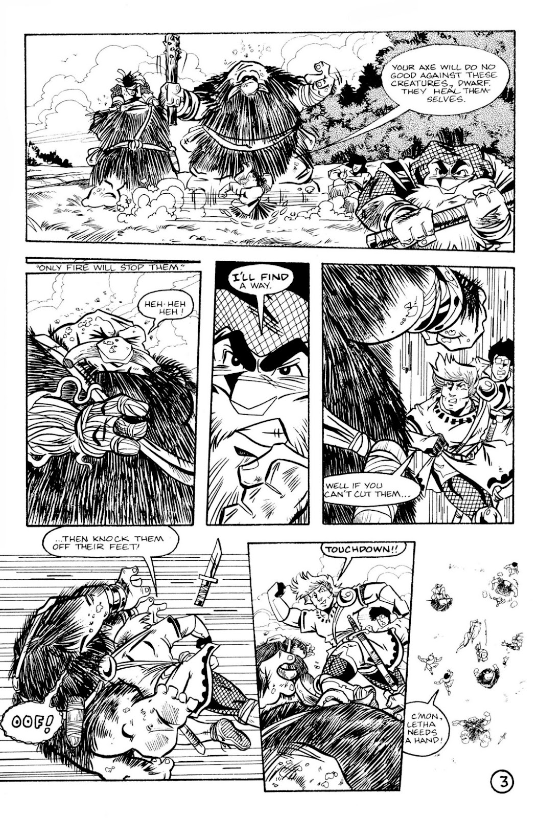 The Realm (1986) issue 8 - Page 5