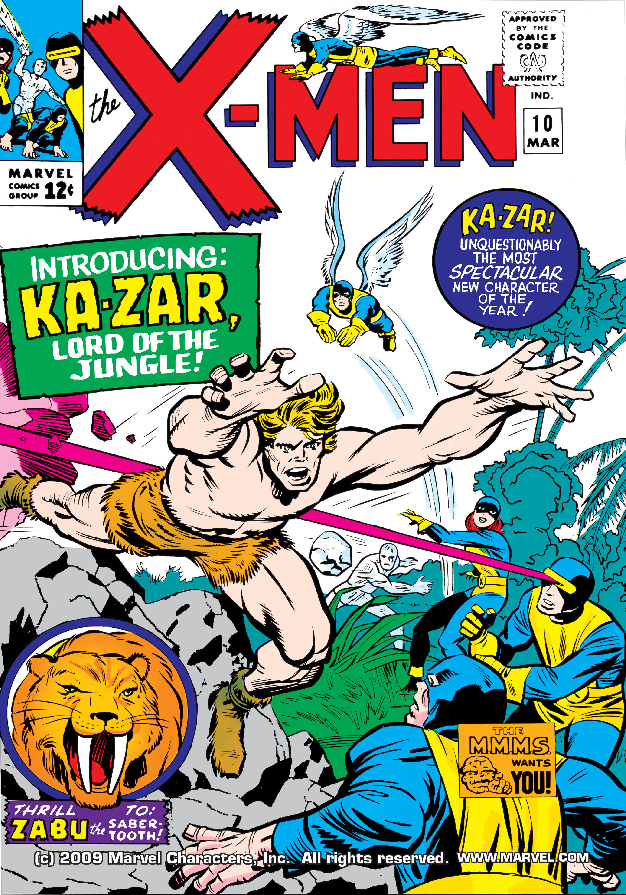 Read online Uncanny X-Men (1963) comic -  Issue #10 - 1