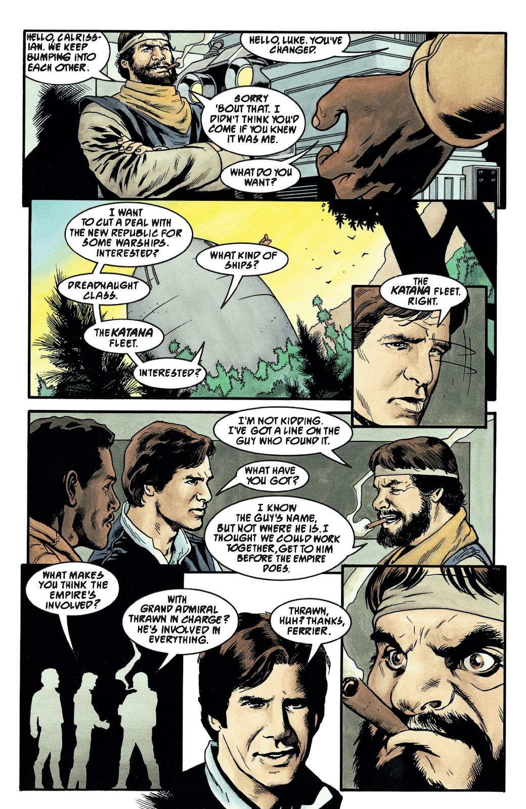 Read online Star Wars Legends: The New Republic - Epic Collection comic -  Issue # TPB 4 (Part 3) - 34