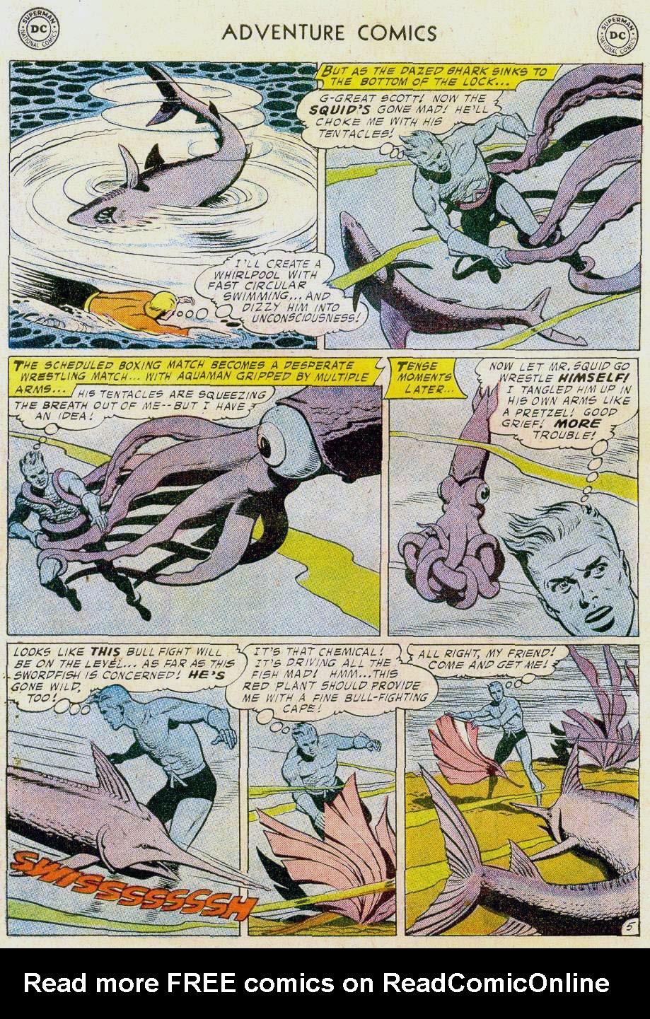 Read online Adventure Comics (1938) comic -  Issue #241 - 30