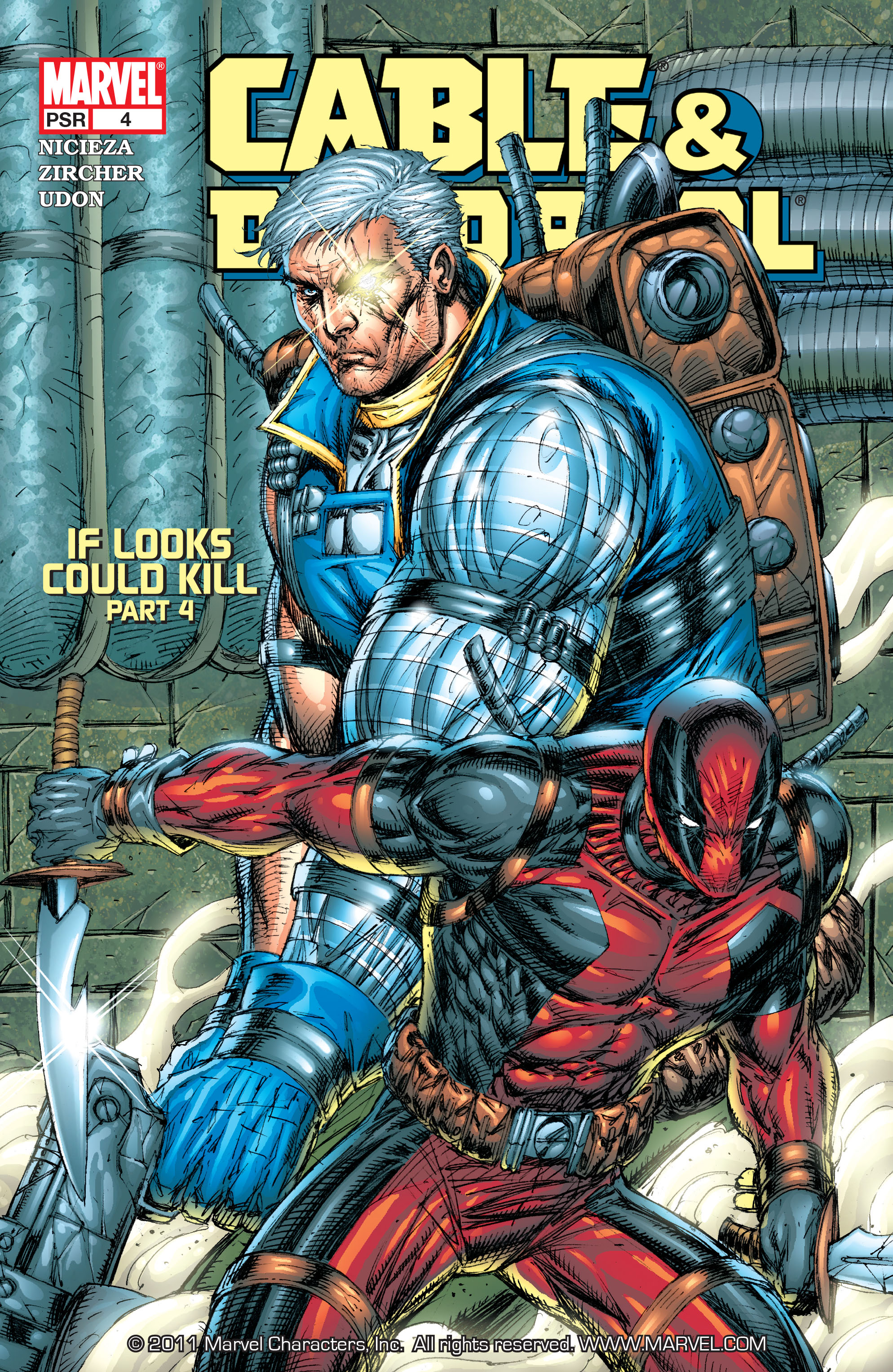 Cable and Deadpool 4 Page 1