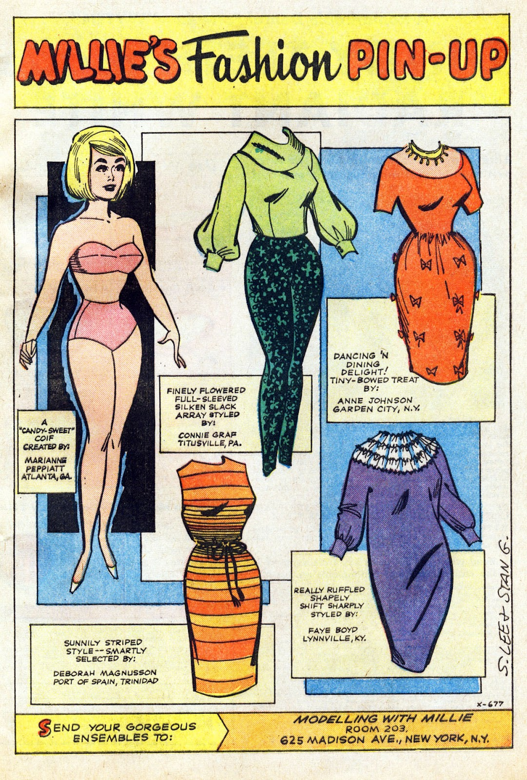 Read online Millie the Model comic -  Issue # Annual 5 - 65