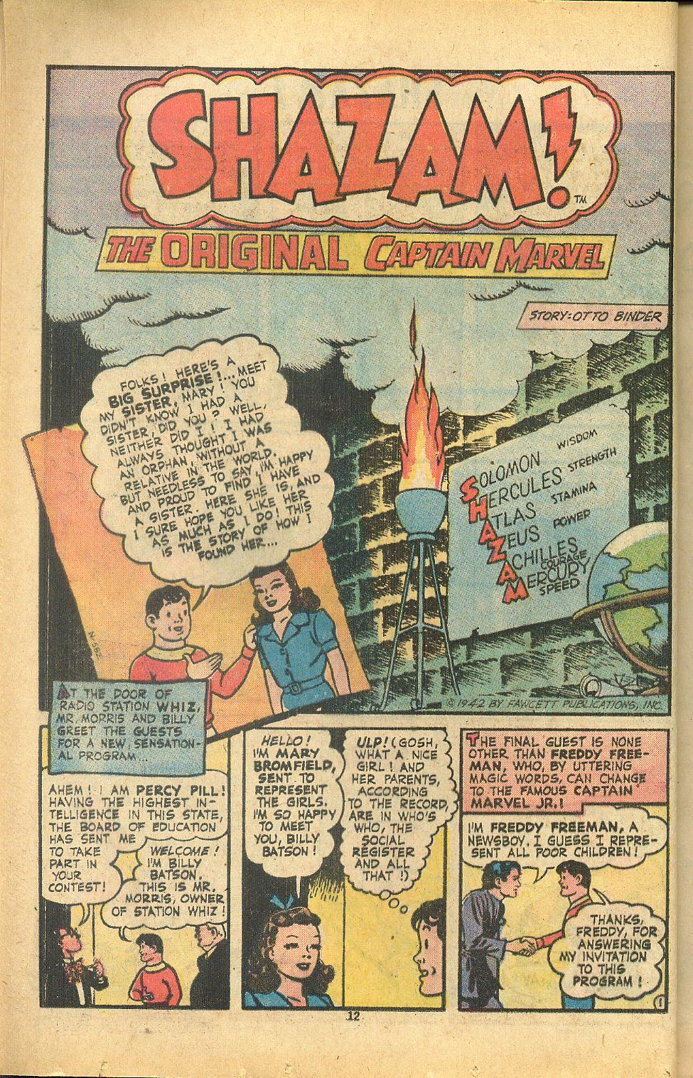 Read online Shazam! (1973) comic -  Issue #8 - 12