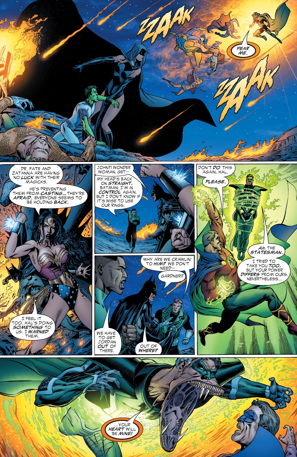 Read online Green Lantern by Geoff Johns comic -  Issue # TPB 1 (Part 2) - 4