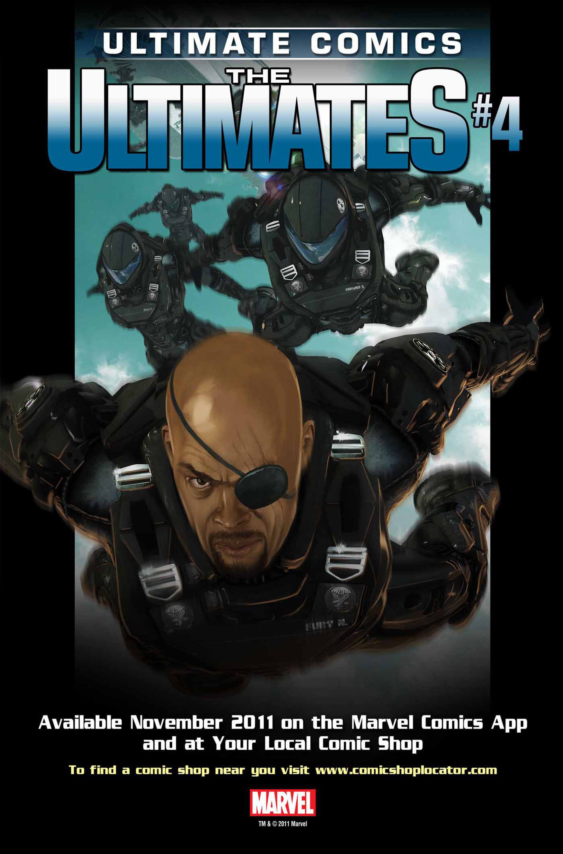 Read online Ultimate Comics Ultimates comic -  Issue #3 - 23