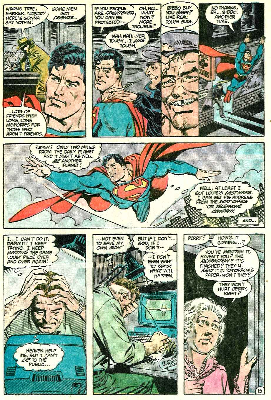 Read online Adventures of Superman (1987) comic -  Issue #428 - 15