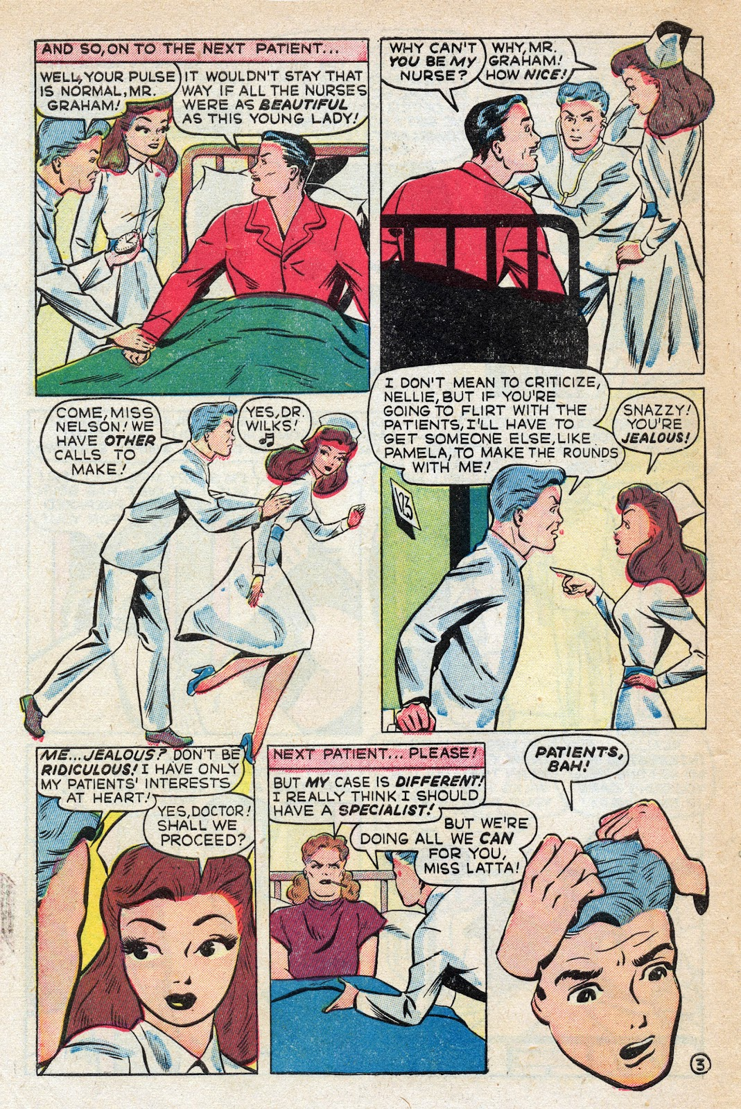 Read online Nellie The Nurse (1945) comic -  Issue #17 - 46