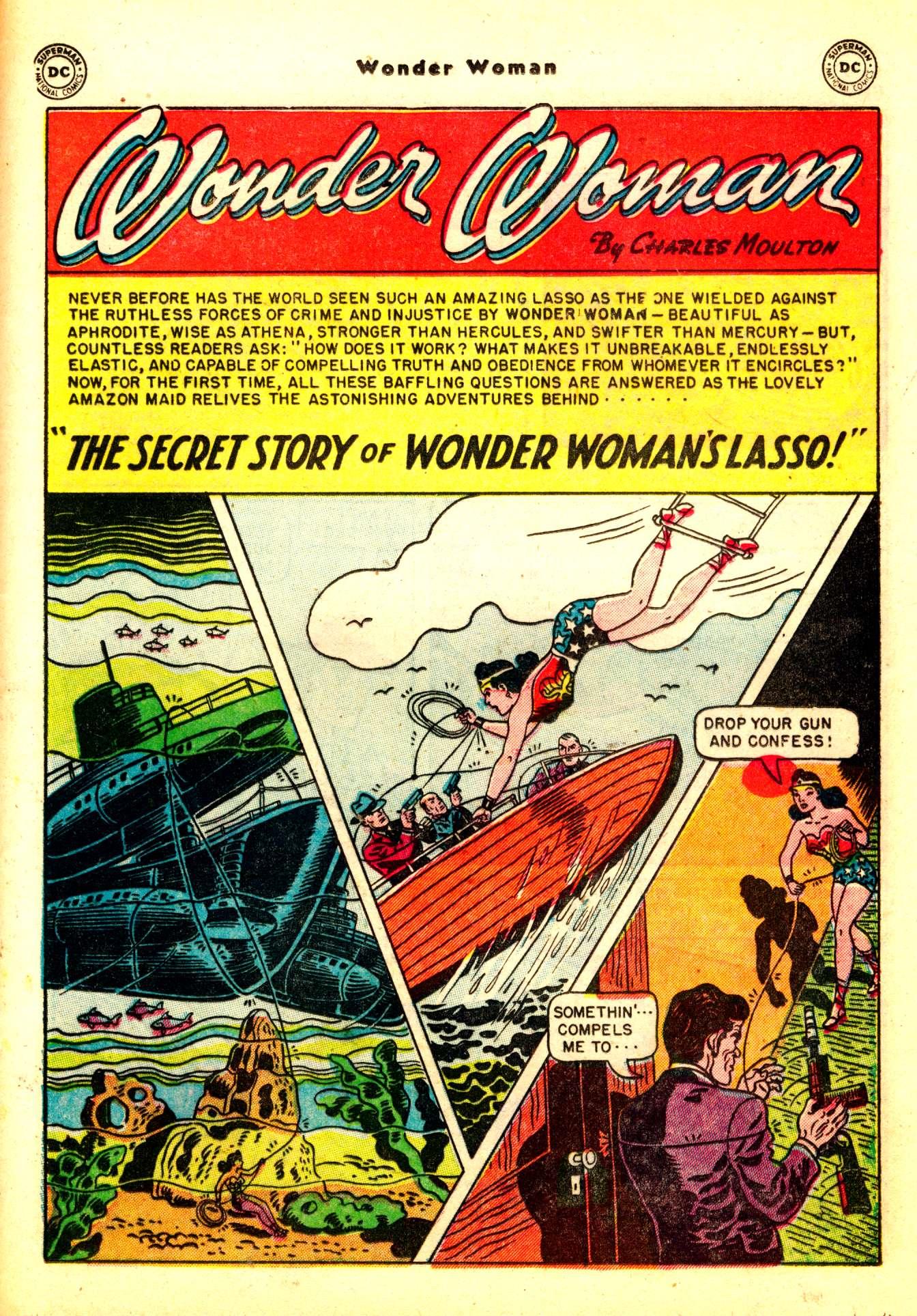Read online Wonder Woman (1942) comic -  Issue #50 - 31