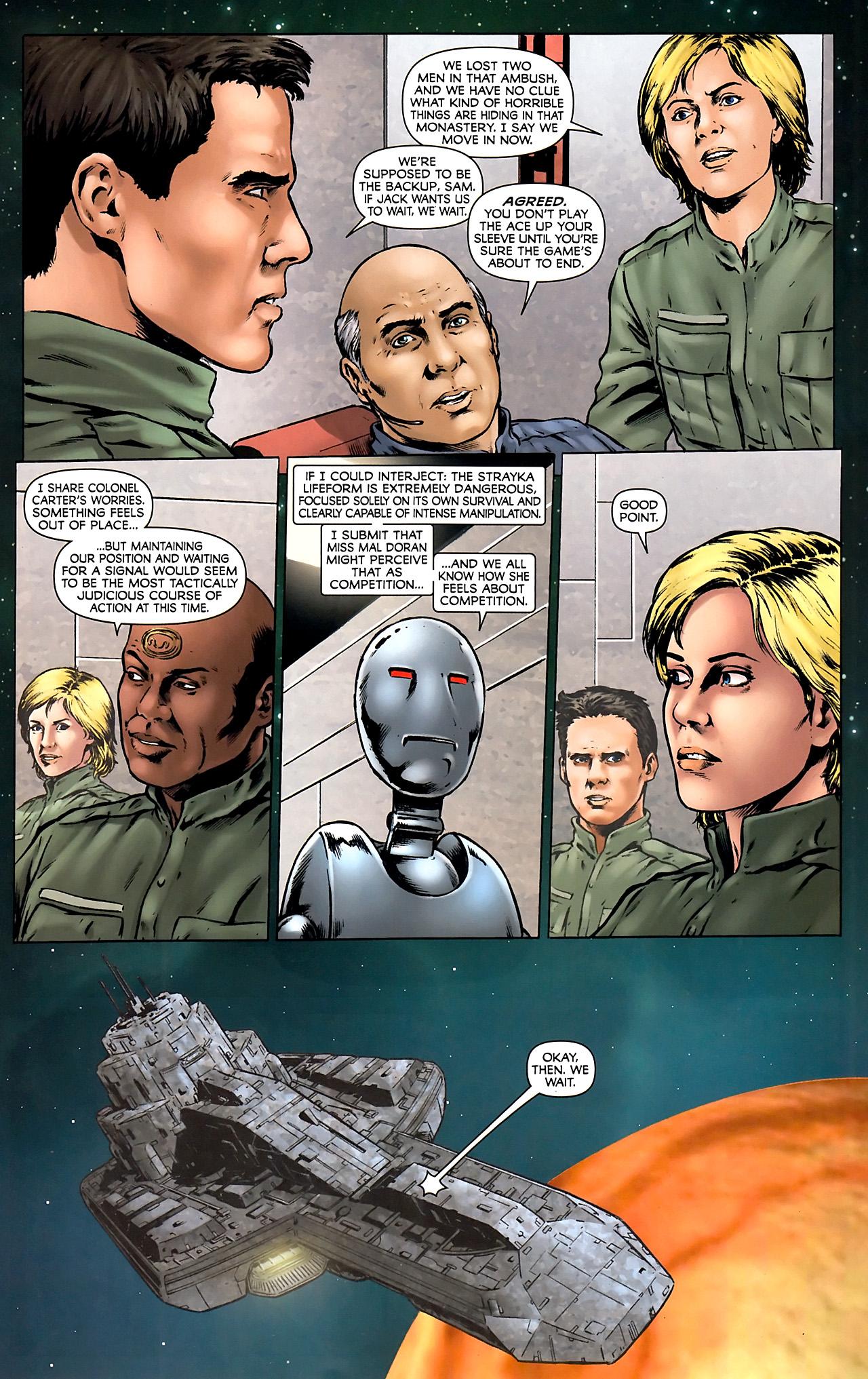 Read online Stargate Vala Mal Doran comic -  Issue #4 - 12