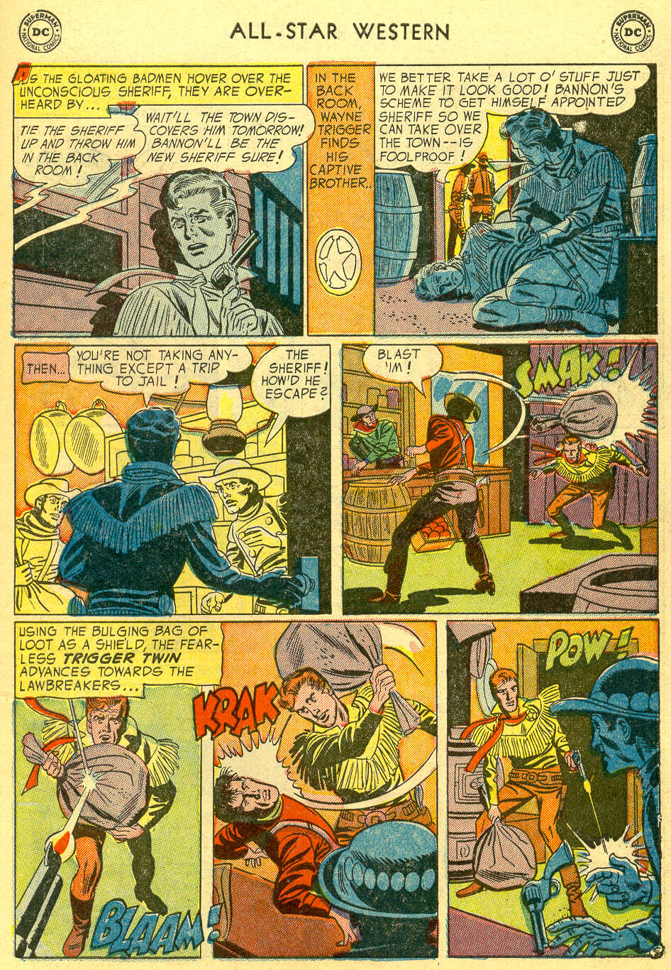 Read online All-Star Western (1951) comic -  Issue #78 - 7