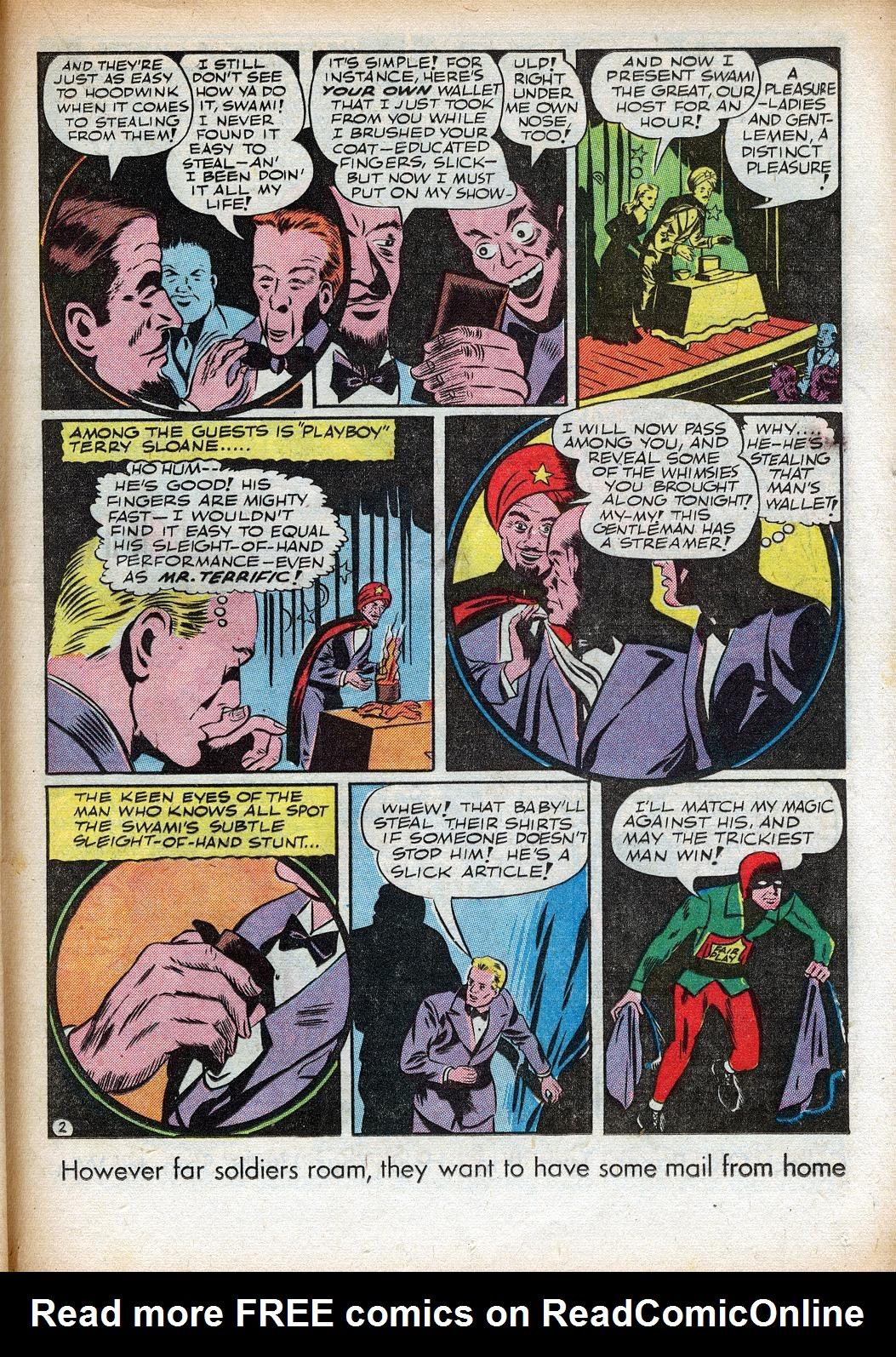 Read online Sensation (Mystery) Comics comic -  Issue #33 - 35