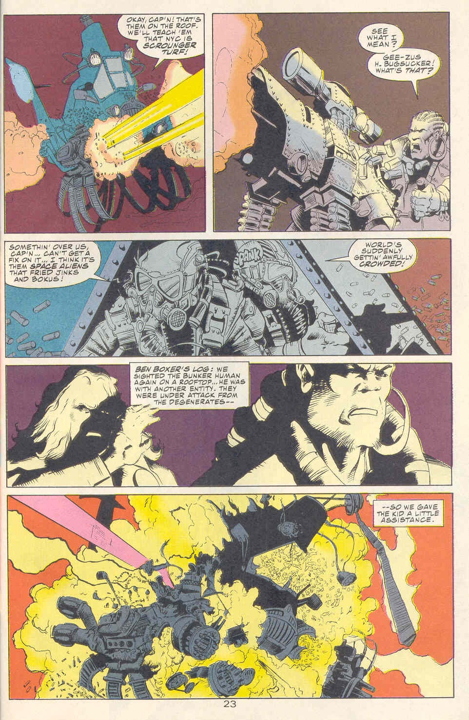 Read online Kamandi: At Earth's End comic -  Issue #1 - 24