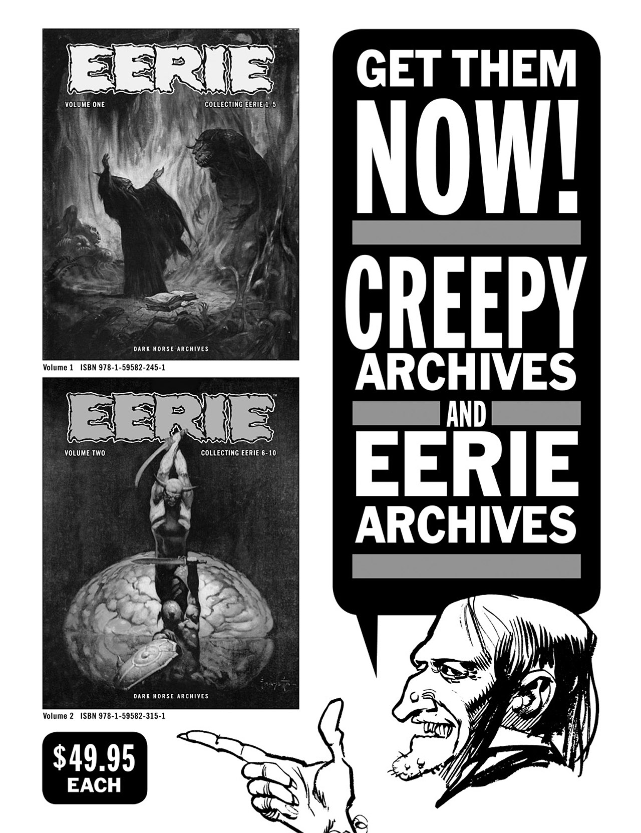 Read online Eerie Archives comic -  Issue # TPB 2 - 288