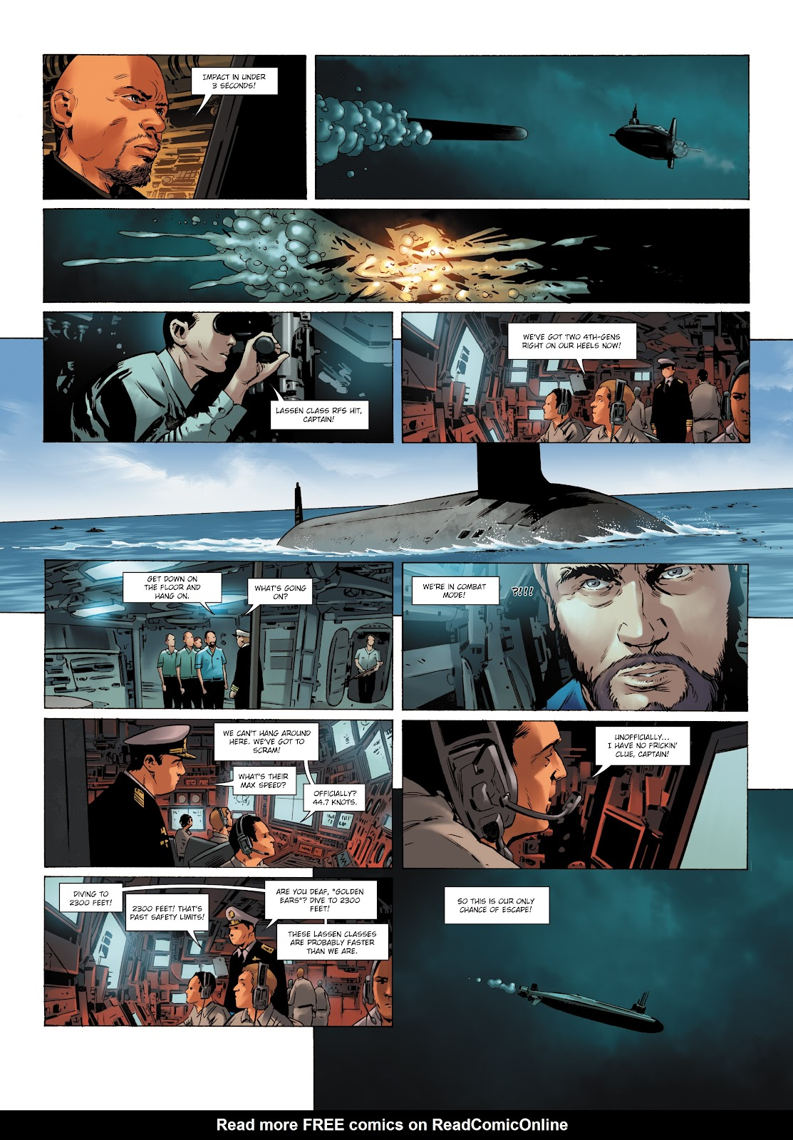 Read online Olympus Mons Vol. 1: Anomaly One comic -  Issue #5 - 24