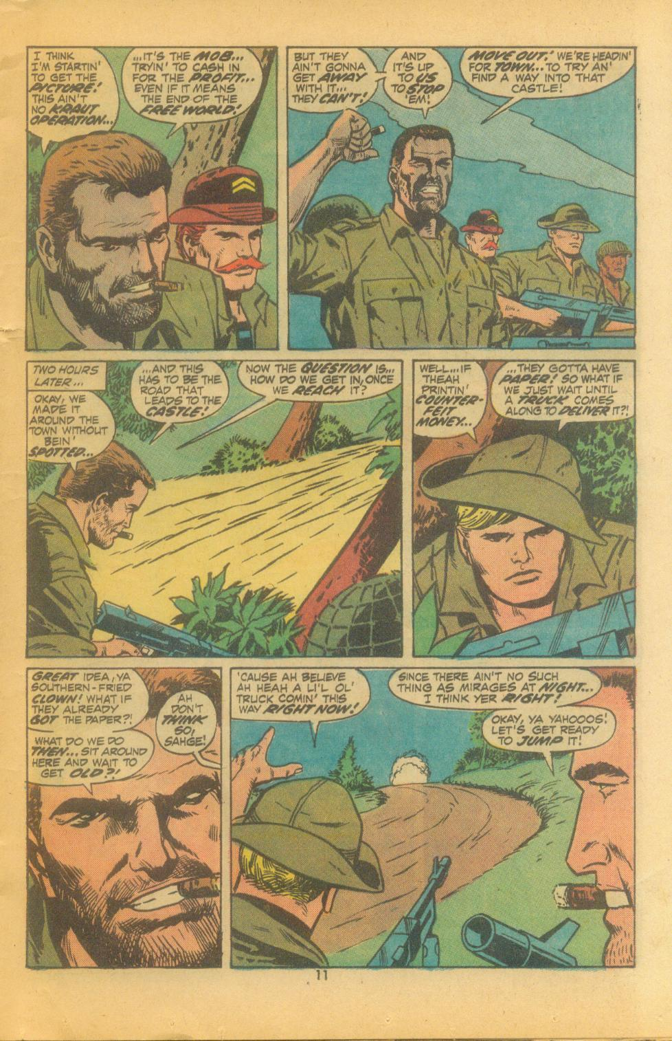 Read online Sgt. Fury comic -  Issue #102 - 13