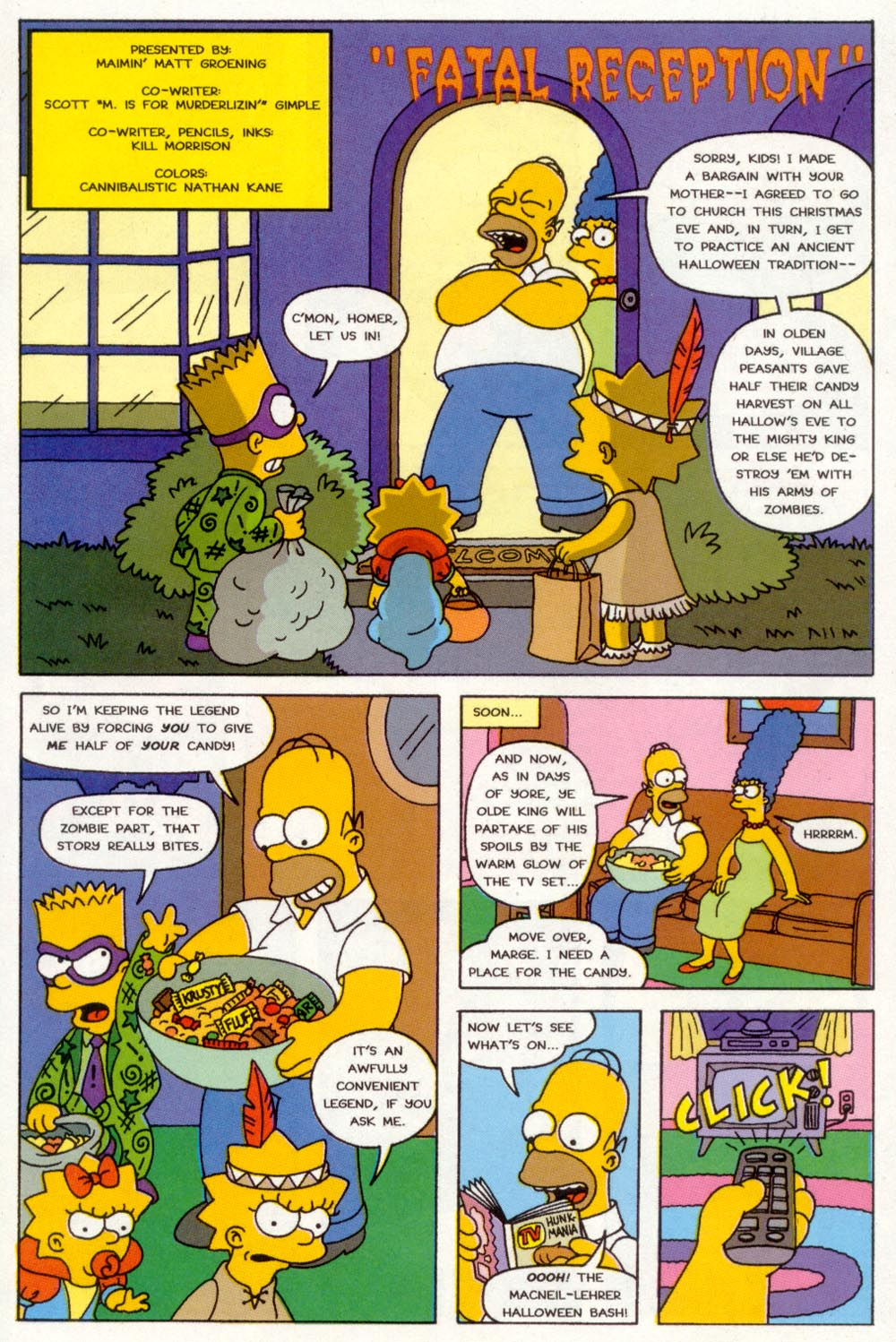 Read online Treehouse of Horror comic -  Issue #3 - 26