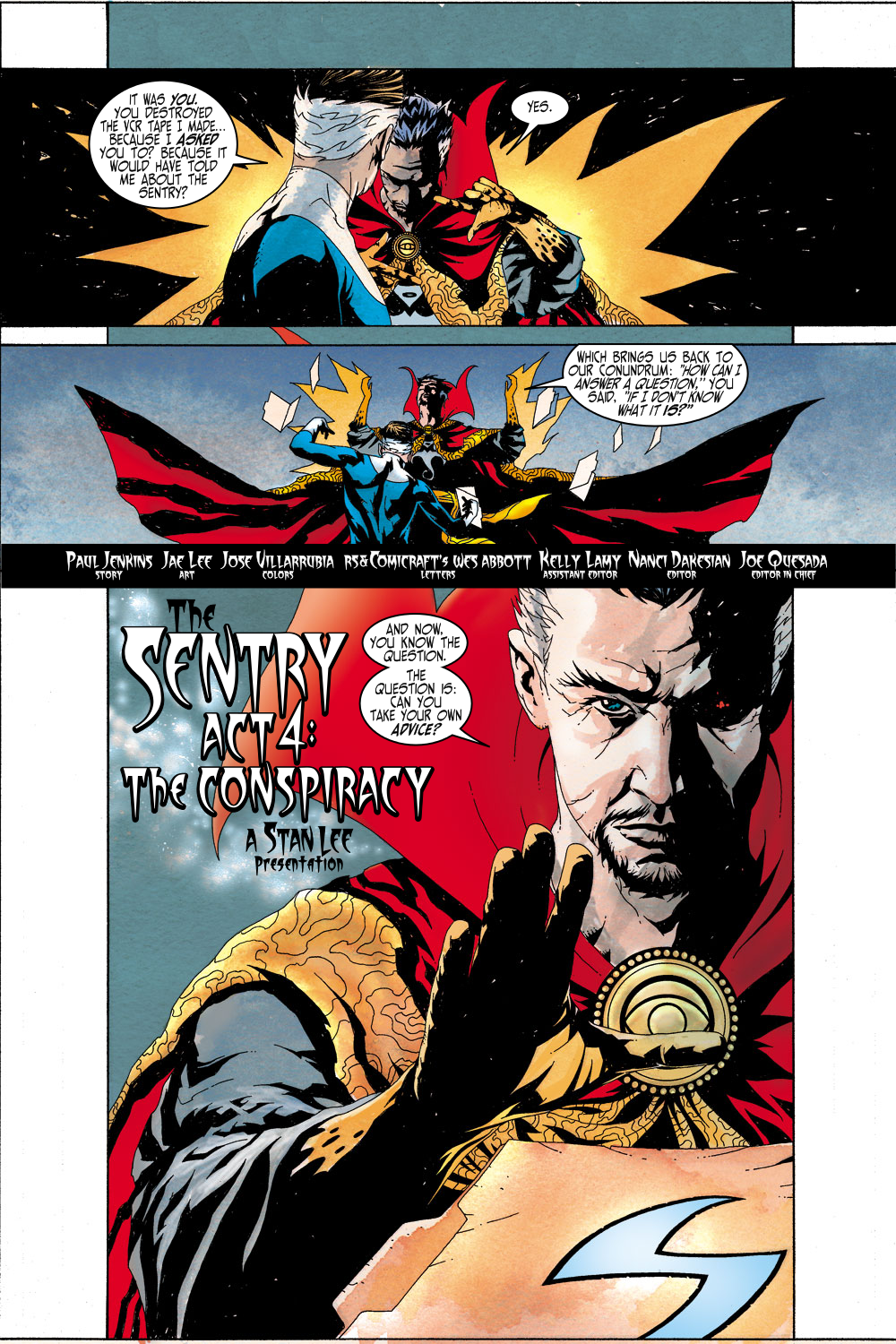 Read online Sentry (2000) comic -  Issue #4 - 4