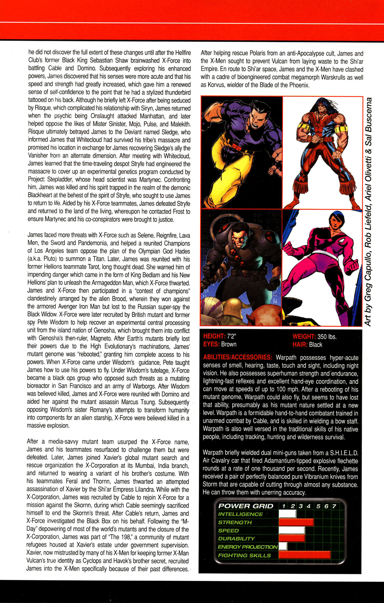 Read online All-New Official Handbook of the Marvel Universe A to Z comic -  Issue #12 - 32