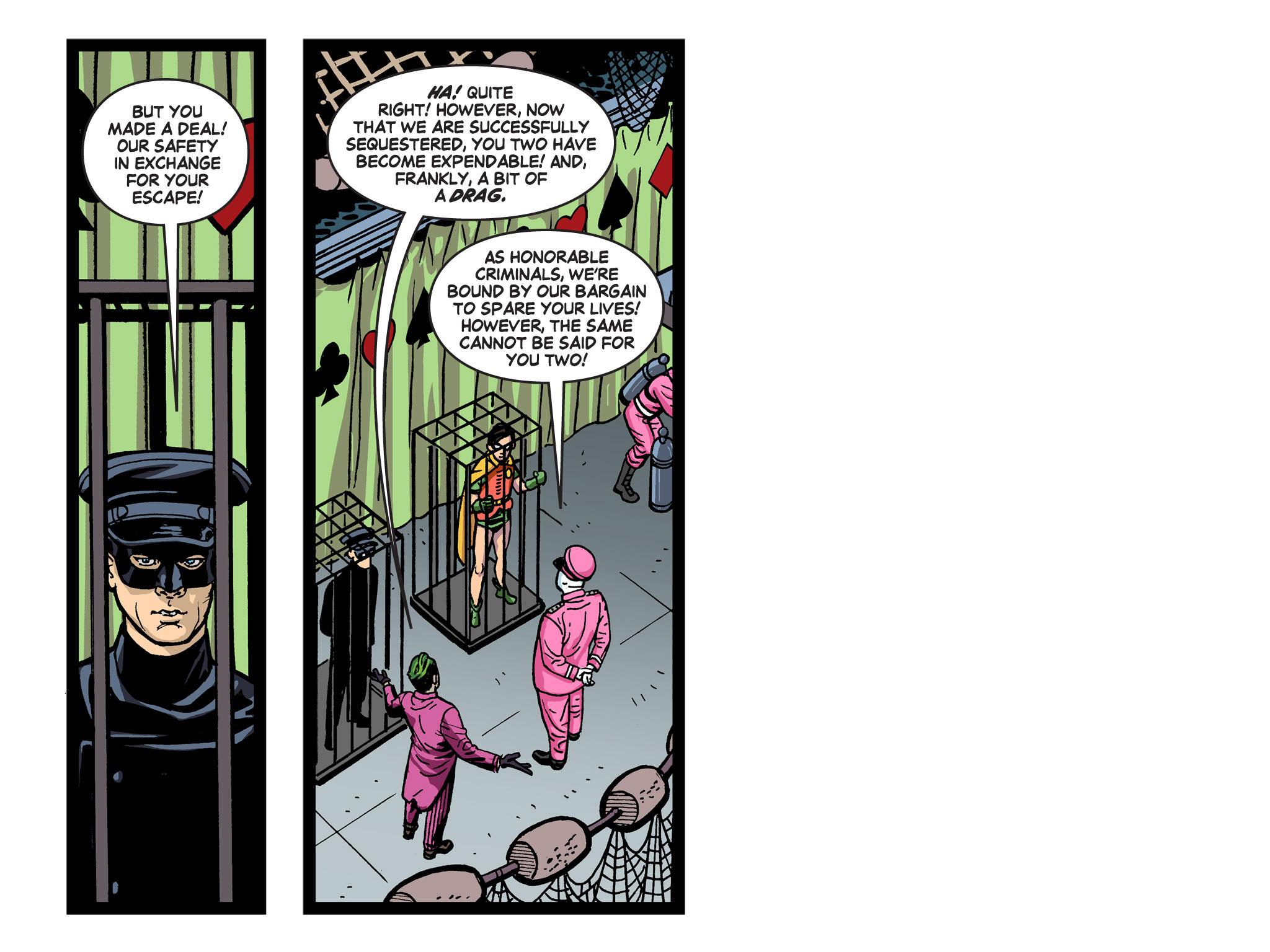 Read online Batman '66 Meets the Green Hornet [II] comic -  Issue #5 - 92