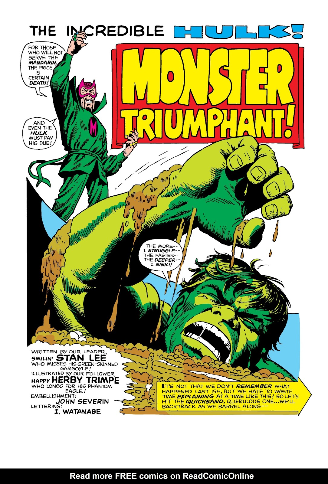 Read online Marvel Masterworks: The Incredible Hulk comic -  Issue # TPB 4 (Part 2) - 13