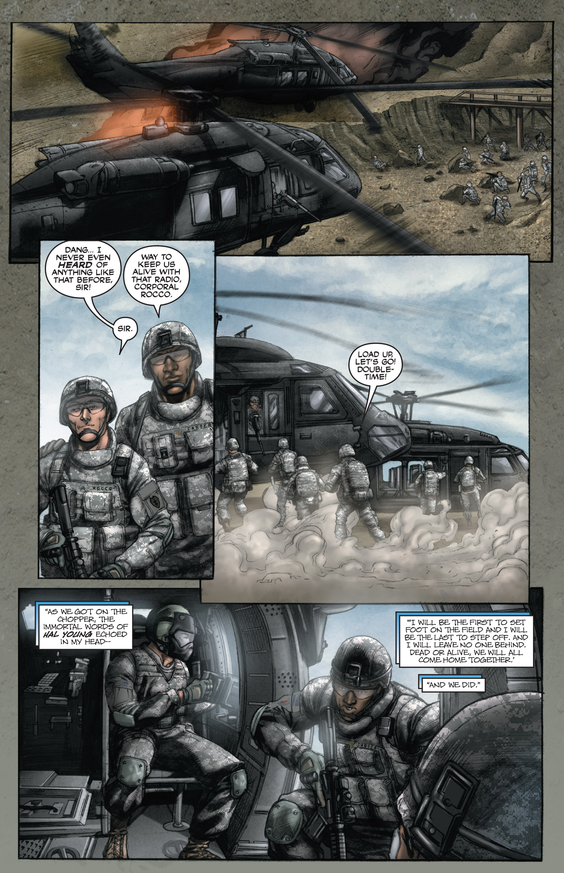 Read online America's Army comic -  Issue #14 - 21