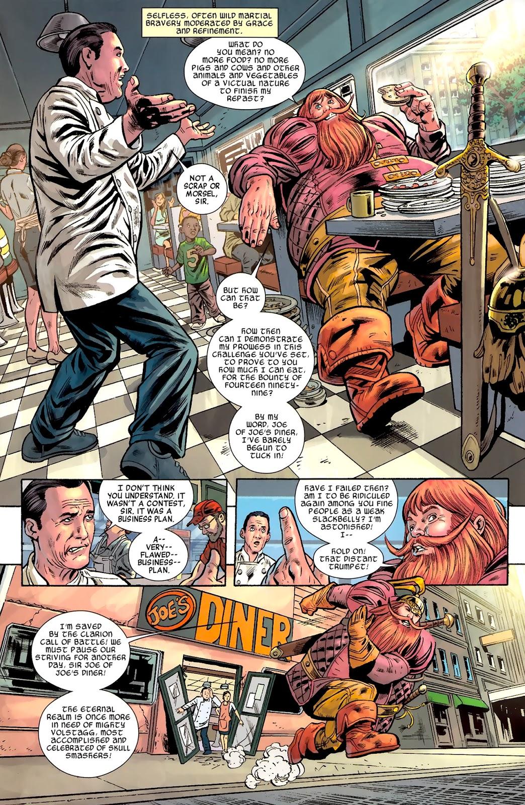 Warriors Three Issue #1 #1 - English 6
