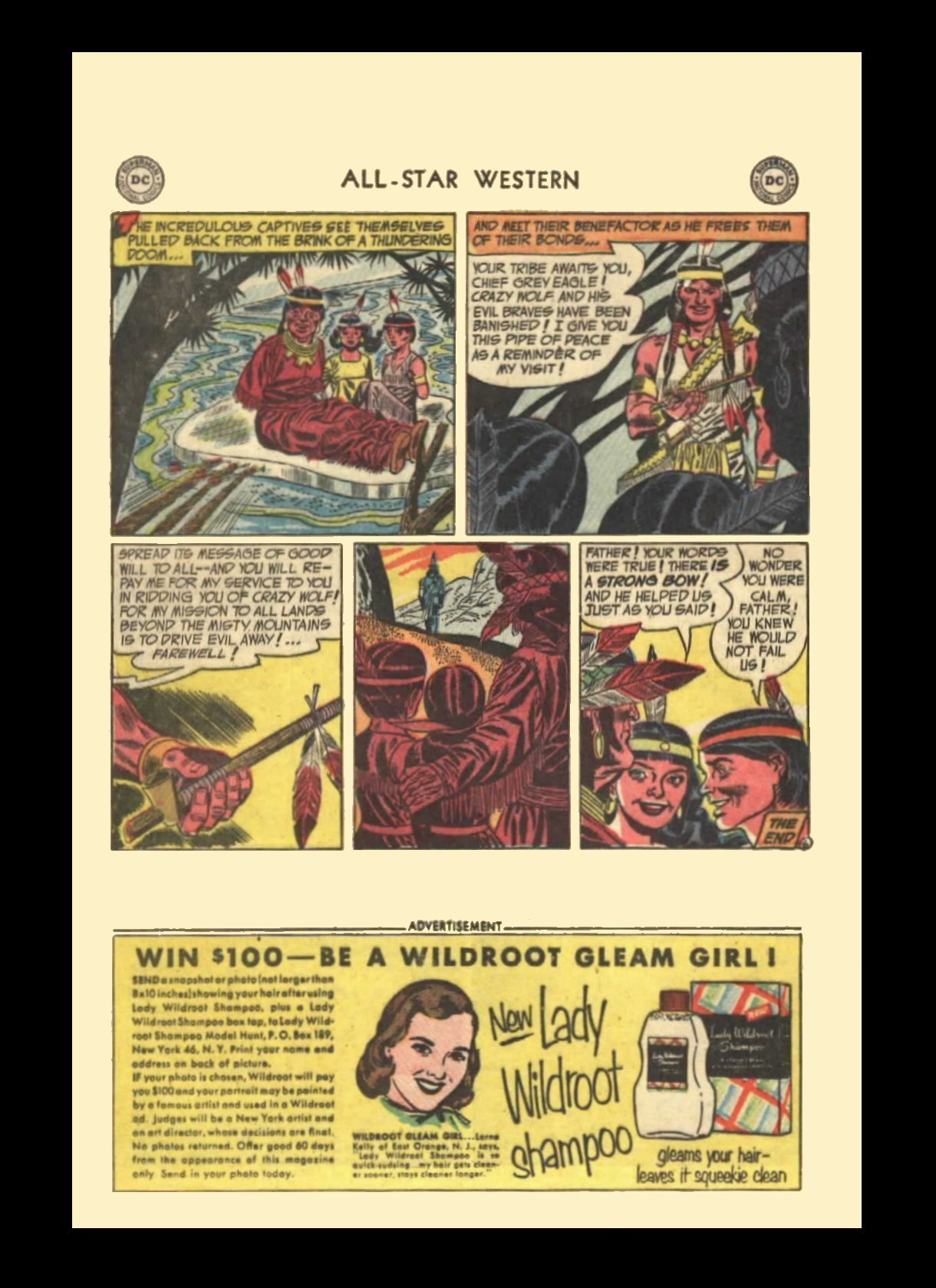 Read online All-Star Western (1951) comic -  Issue #72 - 16