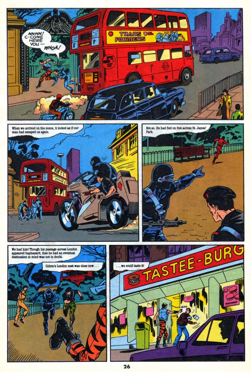 G.I. Joe European Missions issue 10 - Page 26