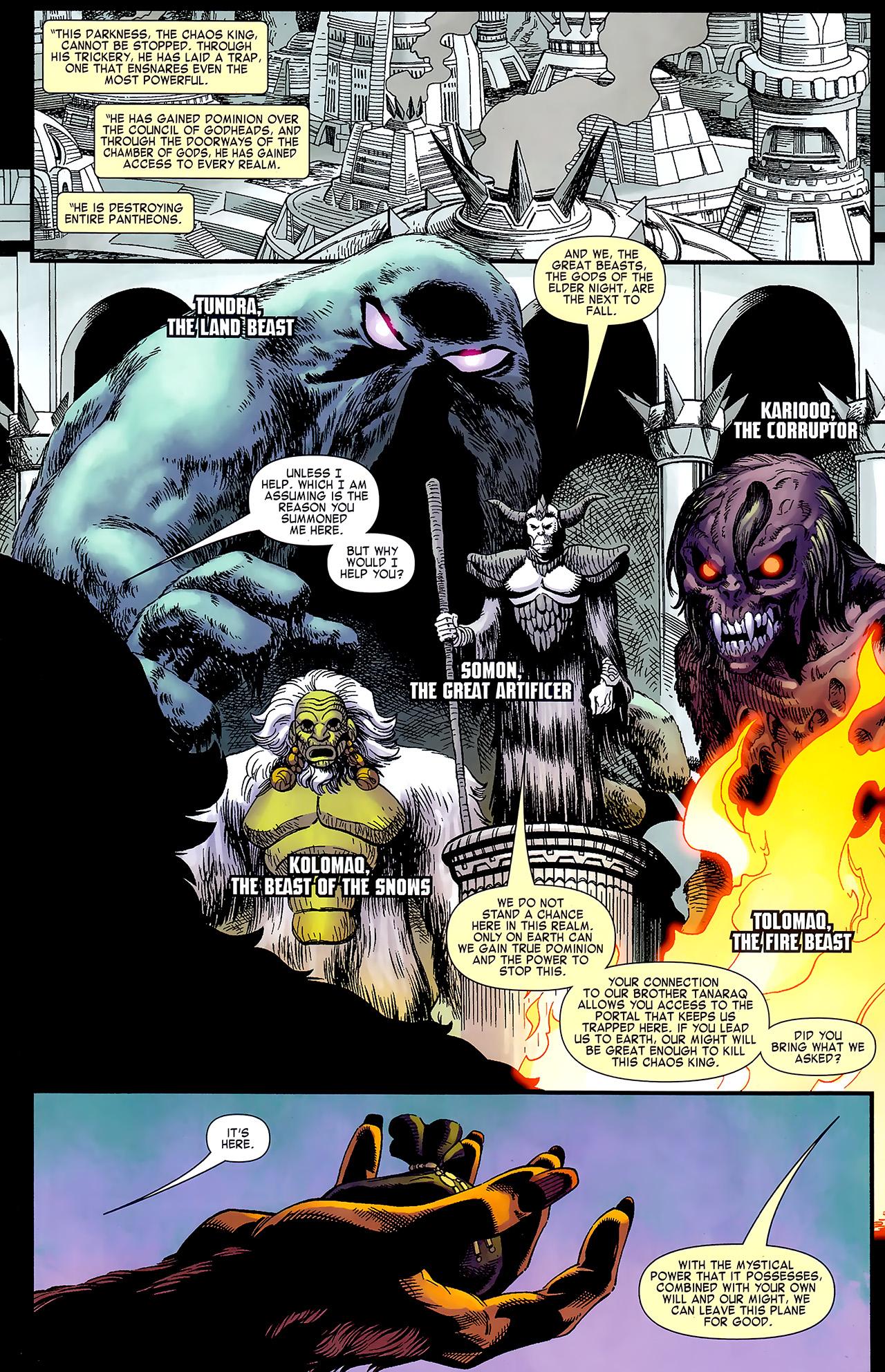 Read online Chaos War: Alpha Flight comic -  Issue # Full - 5