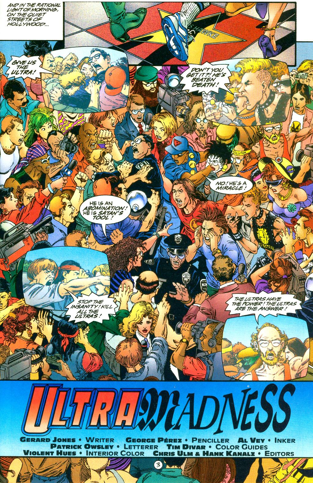 Read online UltraForce (1994) comic -  Issue #0 - 5