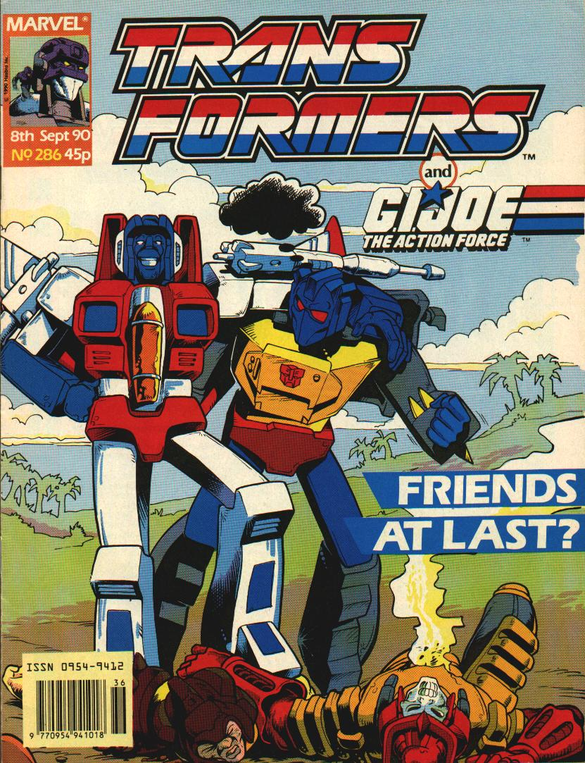 The Transformers (UK) 286 Page 1
